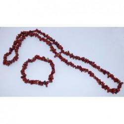 náhrdelník,náramek-jaspis...