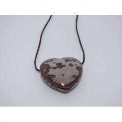 talisman-srdce kámenné-jaspis