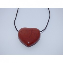 Talisman srdce- jaspis červený