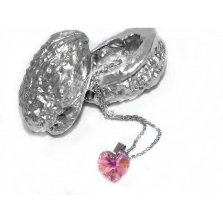 240b46240 Swarovski - Srdce růžové, malé