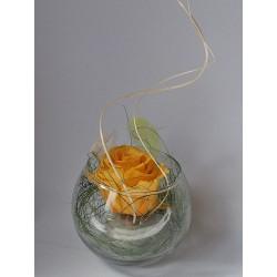 Dekorace stabilizovaná růže...