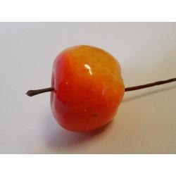 Dekorační jablíčka - Oranžová