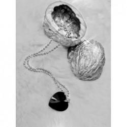 Swarovski - Srdce černé, velké