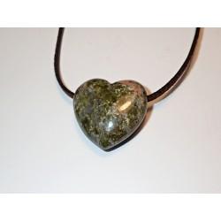 Talisman srdce kámen Jaspis...