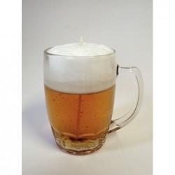 Svíčka ve tvaru piva 0,3 l
