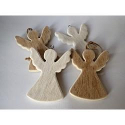 Dřevěná dekorace - Anděl