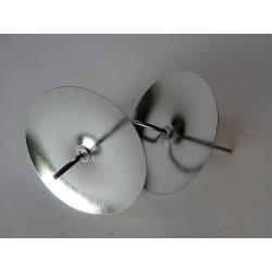 Bodec pod svíčky - stříbrný