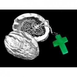 křížek jaspis zelený