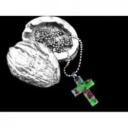 křížek kámen Květinový kámen