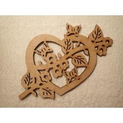 Srdce s větvičkou