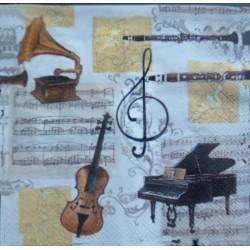 Ubrousek hudba