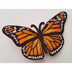 Dekorace  žlutý Motýl -...