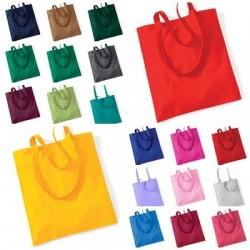 Taška plátěná, různé barvy
